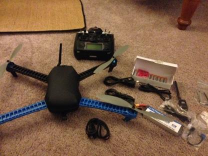 3DR IRIS quadcopter